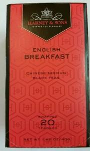 English Breakfast Harney & Sons Tea