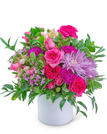 English Countryside Flower Arrangement