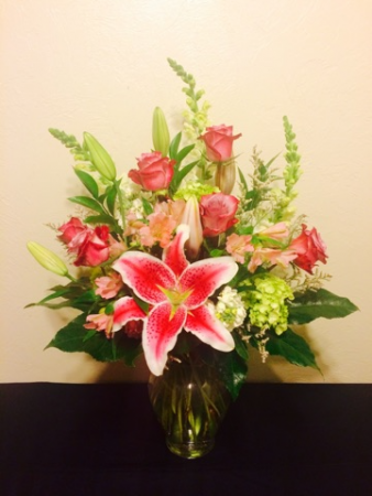 Garden Escape Vase Arrangement