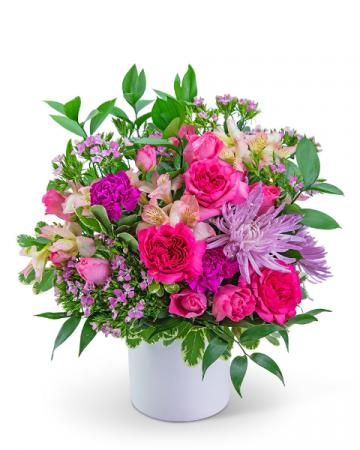 English Garden Flower Arrangement