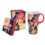 English Garden Travel Cup Giftware