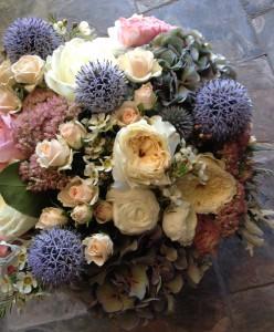 English Garden Vase Arrangement