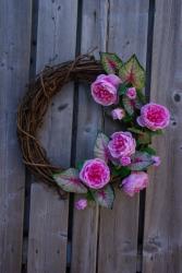 English Garden Wreath Grapevine wreath