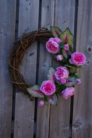 English Garden Wreath Grapevine wreath in Corner Brook, NL | The Orchid