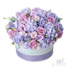 ENGLISH LAVENDER BLISS CUSTOM HAT BOX