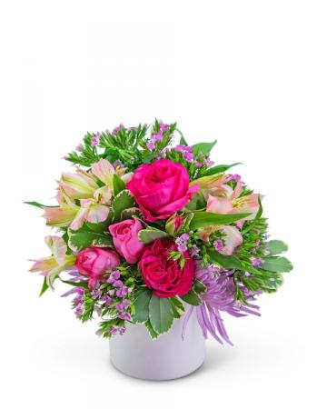 English Rose Flower Arrangement