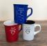 Engraved mugs Colored engraved mugs