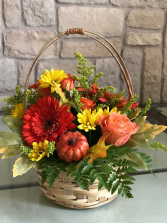 ENJOY FALL Flower Basket