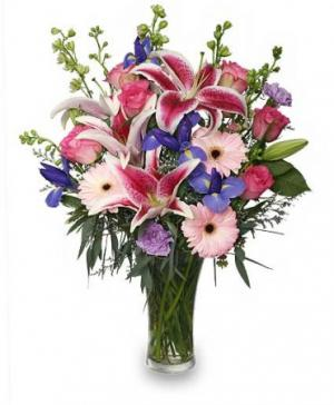 Enjoy Your Day Bouquet in Edmonton, AB | POLLIE'S FLOWERS