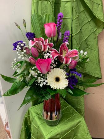 Enjoy Your day Mom. Fresh cut Flowers