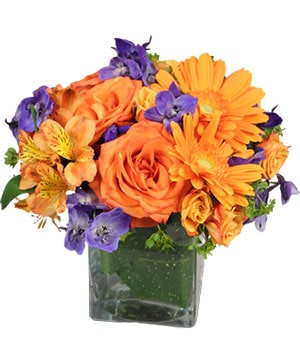 Enthusiasm Blossoms Bouquet in Spring Green, WI | Prairie Flowers & Gifts