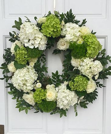 Enticing Emerald Wreath