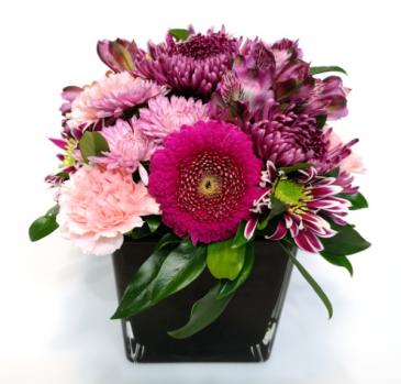 Epic Bloomers Container Arrangement
