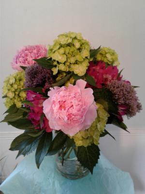 Esmeralda Vased Arrangement in Hingham, MA | HINGHAM SQUARE FLOWERS