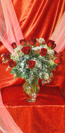 R18V Especially For You Valentine Arrangement