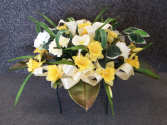 Essence of Spring Silk Headstone Saddle