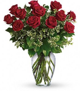 Rose Bouquet    12 red or any color  in Fort Lauderdale, FL | ENCHANTMENT FLORIST