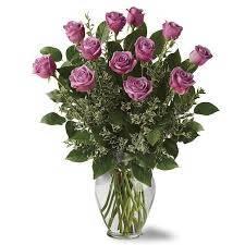 Lavender Rose Bouquet 12 STANDARD 18 DELUXE 24 PREMIUM in Fort Lauderdale, FL | ENCHANTMENT FLORIST