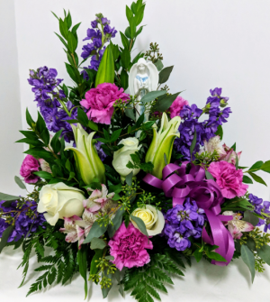 Eternal Angel Sympathy Arrangement in Douglasville, GA | The Flower Cottage & Gifts, LLC