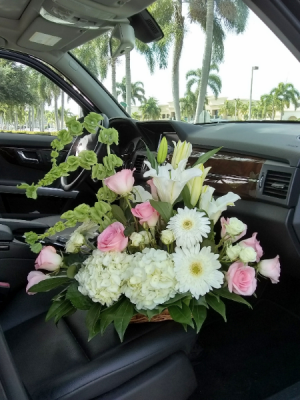 Eternal Flower Basket  in Delray Beach, FL | Greensical Flowers Gifts & Decor