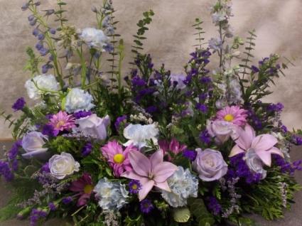 Eternal Garden Urn Wreath Funeral Flowers