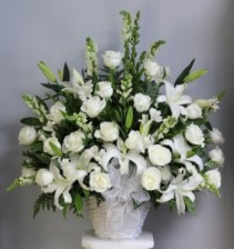 Eternal Grace Floral Basket