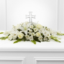 Eternal Light Bouquet Funeral Flowers
