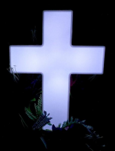 Eternal Light - Cross Lighted Cross