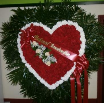 ETERNAL LOVE HEART Sympathy Tribute Heart