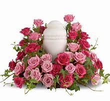 Eternal Love Remembrance Urn Arrangement