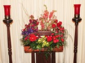 ETERNAL LOVE SYMPATHY URN ARRANGEMENT