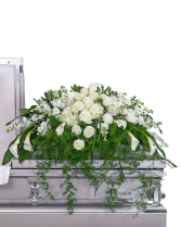 Eternal Peace Casket Spray Sympathy