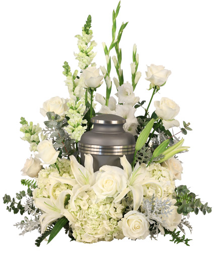 Eternal Peace Urn Cremation Flowers   (urn not included)