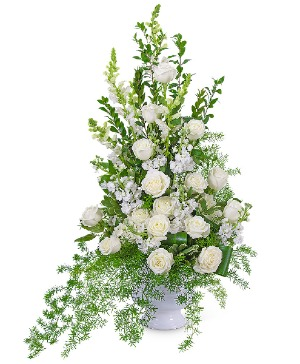 Eternal Peace Urn Sympathy in Nevada, IA | Flower Bed