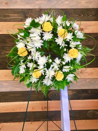 Eternal Remberance Fresh Wreath