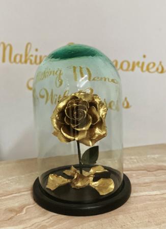 Eternal Roses Medium Gold Eternal Roses