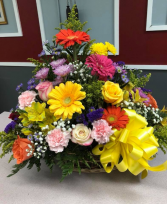 ETERNAL SPRING BASKET Basket Arrangement