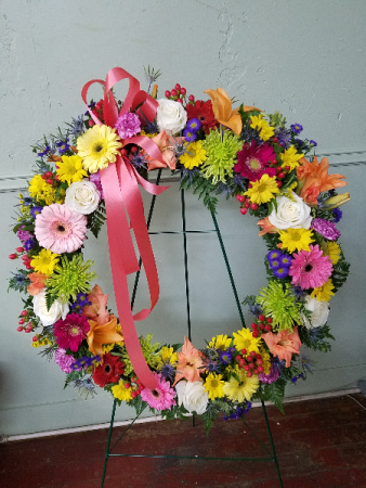 Eternal Spring Funeral Wreath