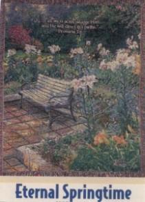 Eternal Springtime Sympathy Tapestry