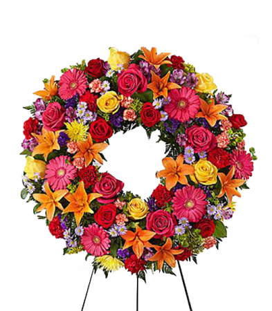 Eternal Sunshine Standing Wreath