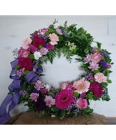 Circle of love Standing wreath arrangement