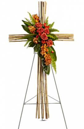 Eternal Wood Cross