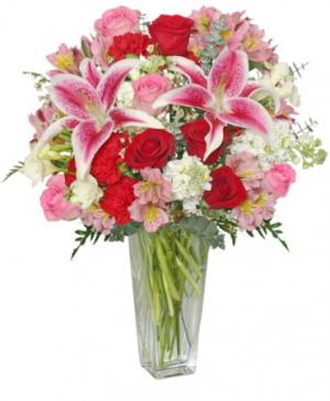 Eternally Yours Flower Arrangement in Lincroft, NJ | Lincroft FAB Florist & Gifts/Silver Tulip Florist