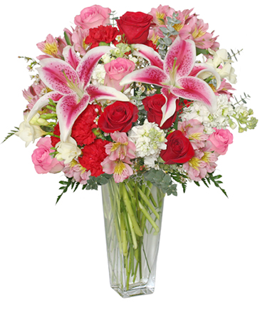 Eternally Yours Flower Arrangement