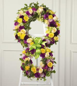 Eternity Wreath S32-5021 in Snellville, GA | SNELLVILLE FLORIST