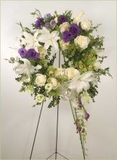 Eternity  Wreath    Standing Easel