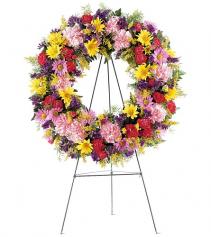 Eternity Wreath Standing Wreath