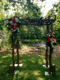 Ethereal & Rustic Arbor Design