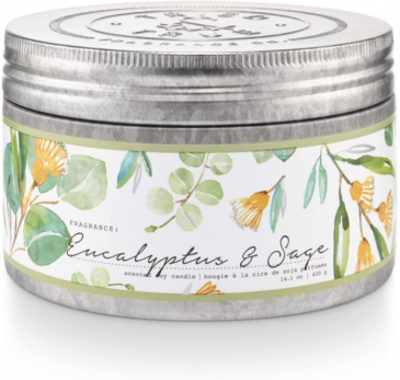Eucalyptus and Sage Candle