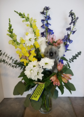 Eucalyptus for a Cause Flower Arrangement